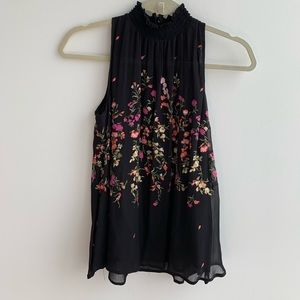 Anthropologie EMBROIDERED BLOUSE